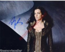 AYELET ZURER SIGNED MAN OF STEEL SIGNED 10x8 Photo Rare Item NOT A COPY OR PRINT